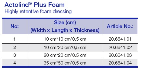 Actolind® Plus Foam 1
